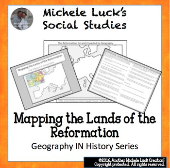 Mapping the Lands of the Reformation Activity Catholic & P