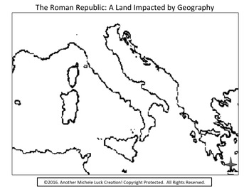 Mapping the Lands of the Romans Activity