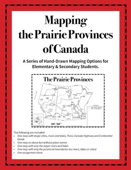 Mapping the Prairie Provinces of Canada