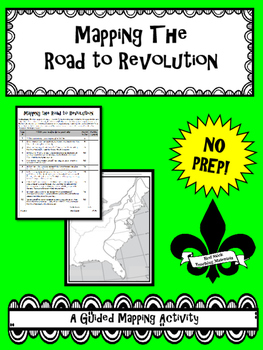 Mapping the Road to Revolution--No PREP!