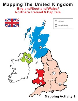 Mapping the United Kingdom & England