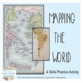 Mapping the World Social Studies Skills Practice Activity