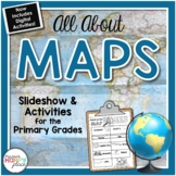 Maps Unit with PowerPoint and Printables (Geography)