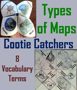Types of Maps Activity