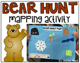 Bear Hunt Map Activity