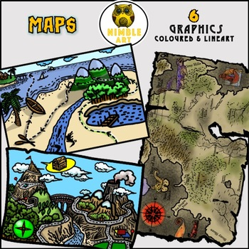 Maps. 3 Fun Maps