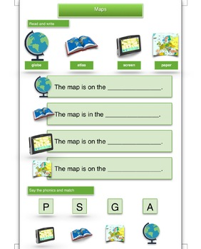 K Geography - Maps