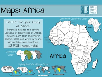 Whole Map Of The World.Maps Africa Clipart