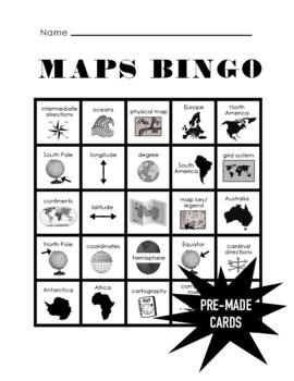 Maps Bingo