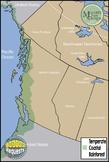 Maps: Coastal Rainforest - British Colombia {Messare Clips & Design}