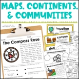 Maps, Continents, and Communities Distance Learning