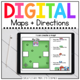Maps Digital Basics for Special Ed | Distance Learning