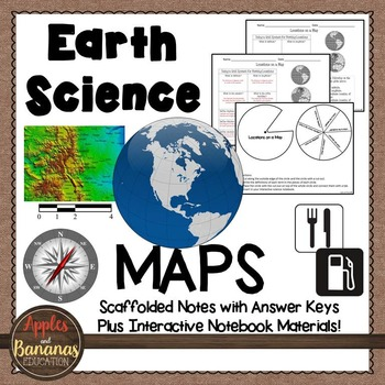 6th grade geography scaffolded notes resources lesson plans maps earth science scaffolded notes and inb activities fandeluxe Image collections