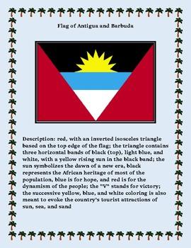 Antigua and Barbuda Maps, Flag, Assessment - Map Skills and Data Analysis