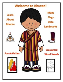 Bhutan Geography, Flag, Maps, Assessment - Map Skills and Data Analysis