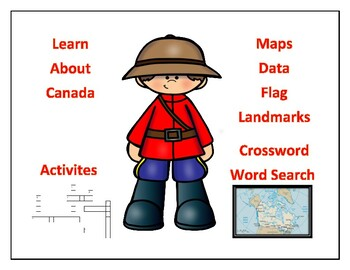 Canada Geography, Maps, Flag, Data, Assessment - Map Skills and Data ...