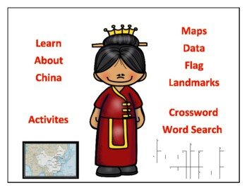 China Geography, Flag, Maps, essment - Map Skills and Data ... on