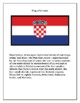 Geography, Flag, Maps, Assessment on Croatia - Map Skills and Data Analysis