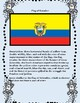 Ecuador Geography, Flag, Data, Maps Assessment - Map Skills and Data Analysis