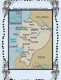 Ecuador Geography, Flag, Data, Maps Assessment - Map Skill