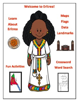 Geography, Flag, Maps Assessment on Eritrea - Map Skills a