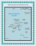 Fiji Geography, Flag, Maps, Assessment - Map Skills and Da