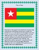 Togo Geography Maps, Flag, Data Assessment Map Skills and Data Analysis