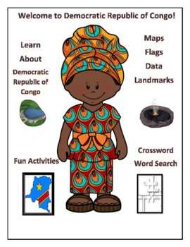 Democratic Republic of the Congo Geography, Flag, Maps and Assessment