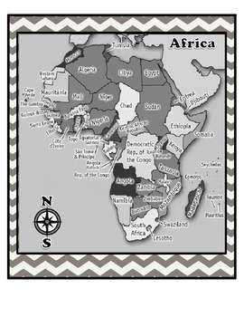 Maps From Around the World {The 7 Continents}