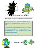 Maps & Geography Assessment with Rubric