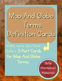 Maps & Globes - Definitions