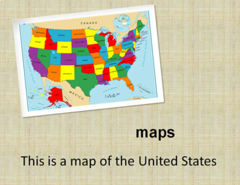 Maps, Globes, Map Keys and Symbols PowerPoint