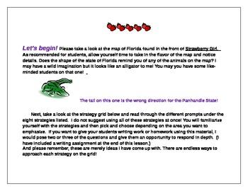 Maps In Children's Book Lesson #3 - Strawberry Girl