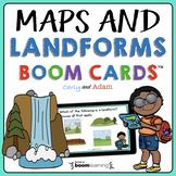 Maps & Landforms Boom Cards™ | Maps & Landforms Reading Pa