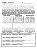 Maps - Map Projections and Introduction Activity
