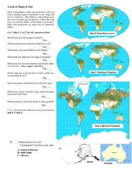 Maps & Map Projections mini-unit