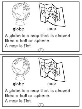 Maps Mini-readers For Primary Readers Set Two