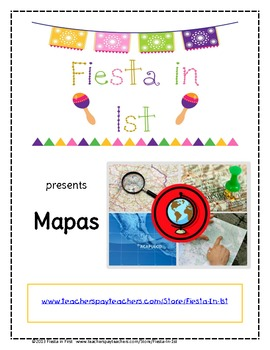 Maps Packet / Paquete de Mapas -- Spanish version