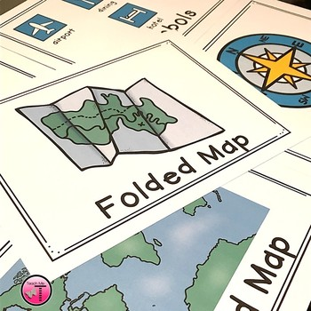 Maps  Map Skills  First Grade Reader with Posters