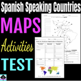Maps: Spanish Speaking Countries and Regions
