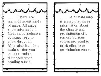Maps Vocabulary Reader