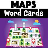 Maps Word Cards Freebie