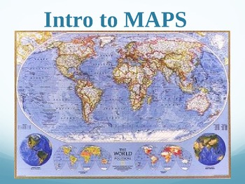 maps an introduction world geography ppt by julia christian tpt
