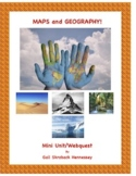 Maps and Geography!NOTES/WEBQUEST