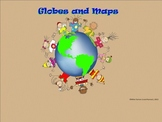 Maps and Globes - A Second Grade SmartBoard Introduction