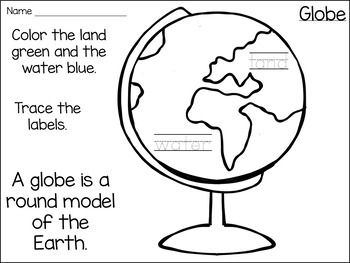 Maps and Globes: A Social Studies Mini-Unit for K-1