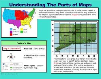 Maps and Globes - A Third Grade PowerPoint Introduction