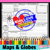Maps and Globes Activity Poster