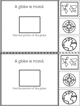 Maps and Globes {An Interactive Reader}