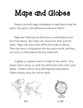 maps and globes venn diagram worksheets & teaching resources tpt  map and globe venn diagram #12